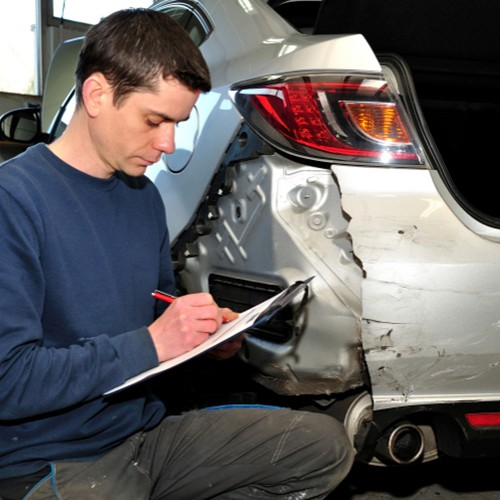 Vehicle accident repairs